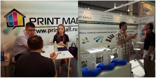 Выставка RemaxAsia Expo 2013 (17-19 октября 2013, Китай), стенд PrintMall, партнеры