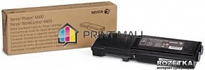 Картридж Xerox Phaser 6600, WC6605 Black (3000 стр.) 106R02252